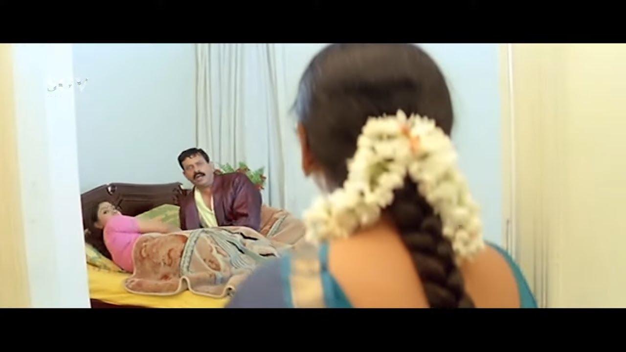 Jayasudha Caught Husband With Other Women In Bedroom   Monda Kannada Movie Scene   Saikumar