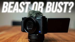 BEAST or BUST? || Sony ZV-1 Pros and Cons