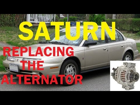 Saturn L Series Replacing Alternator