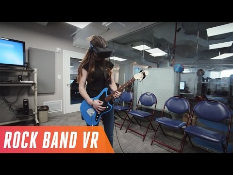 How Harmonix remade Rock Band for virtual reality