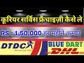 Courier Service Business, Courier Service in India, Small Business Ideas in Hindi,Courier Franchise