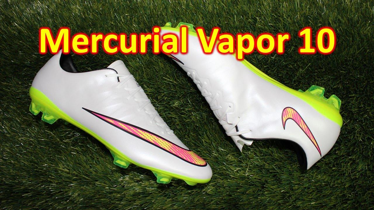 f8d358f3dc1 Nike Mercurial Vapor 10 Shine Through - Review + On Feet - YouTube