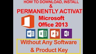 How to download And Install Microsoft #Office 2013 + crack with KM Spico Registration Software
