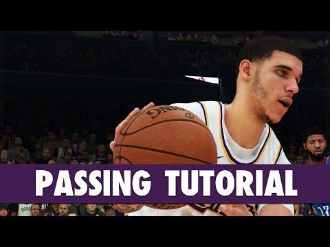 NBA 2K19 - PASSING Tutorial: Bounce, Flashy, Fake, Jump, Alley-oop, Self Alley-oop | PS4/XB1