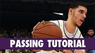 NBA 2K19 - PASSING Tutorial: Bounce, Flashy, Fake, Jump, Alley-oop, Self Alley-oop | PS4/XB1 Video