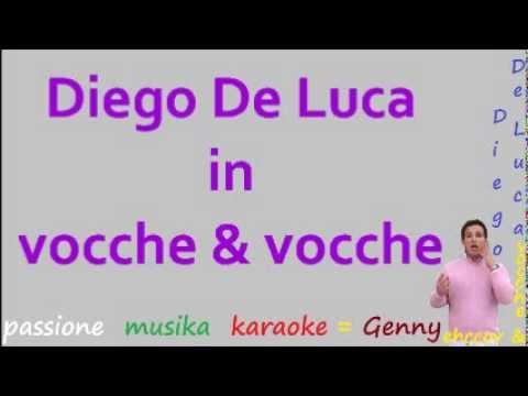DIEGO DE LUCA Vocche & vocche karaoke