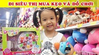 du ty đi siu thị mua kẹo v đồ chơi baby doing grocery shopping