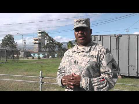 Army South Customs Training in Honduras