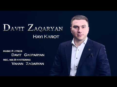 Davit Zaqaryan - Hayi Karot (Audio )
