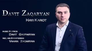 Davit Zaqaryan - Hayi Karot / Song Premiere // Audio /