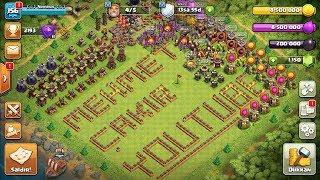 DÜNYA REKORU 42 MİLYON GANİMET KB11 GEÇİŞ Clash Of Clans