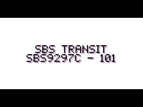 SBS Transit : SBS9297C on Service 101 [ Serangoon Interchange to Hougang Central Interchange ]