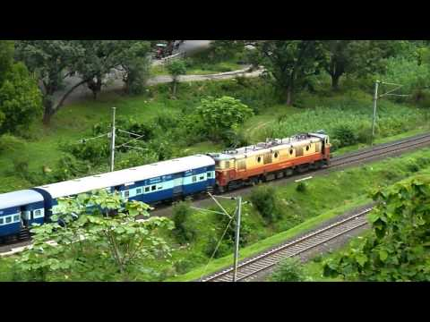 22111 Bhusawal-Nagpur Express for the first time on Youtube!!