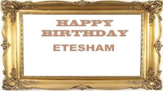 Etesham  Birthday Postcards & Postales