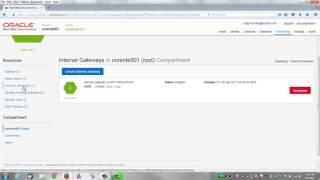 إنشاء أوراكل المعدن سحابة سحابة افتراضية شبكة (VCN)