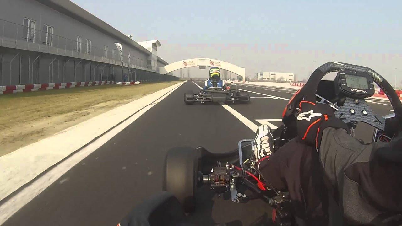 Circuito Adria : Kz onboard at adria karting raceway youtube
