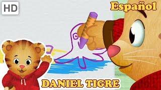 Daniel Tigre en Español 🖍️🎨🖌️ Deja que tu Creatividad Brille! | Videos para Niños