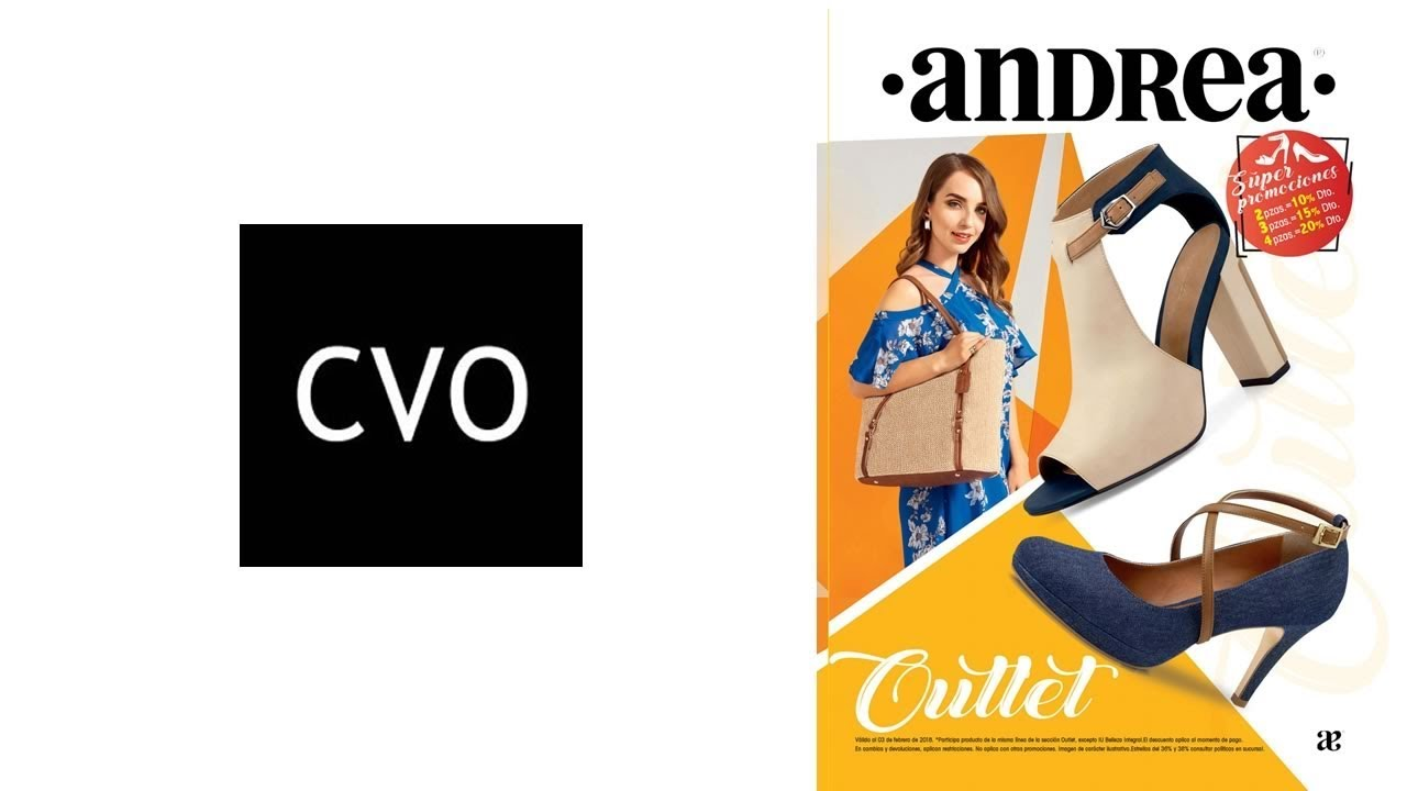 619579c31 Catálogo ANDREA Enero 2018: OUTLET de Calzado y Ropa - YouTube