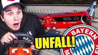 Der FC Bayern verursacht ein VERKEHRSCHAOS!  ✪ Fernbus Simulator mit Lenkrad