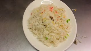 How To Cook Rice - Cooking Rice - Perfect Rice - Indian Restaurant Cooking