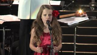 "Amira Willighagen - ""O Sole Mio"" with Paul Potts & James Bhemgee - South Africa - 9 August 2014"