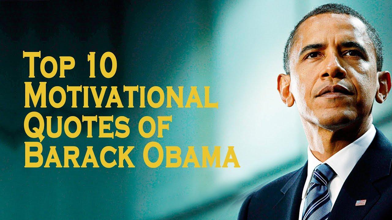 Top 10 Motivational Quotes Of Barack Obama