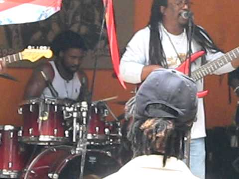 BassieDee Live at Bob Marley Birthday Celebrations at Nine Miles St Ann 6/2/2011