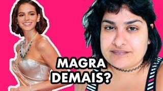 """""""MAGRA DEMAIS"""": BRUNA MARQUEZINE, BODY SHAMING E SAÚDE MENTAL"""
