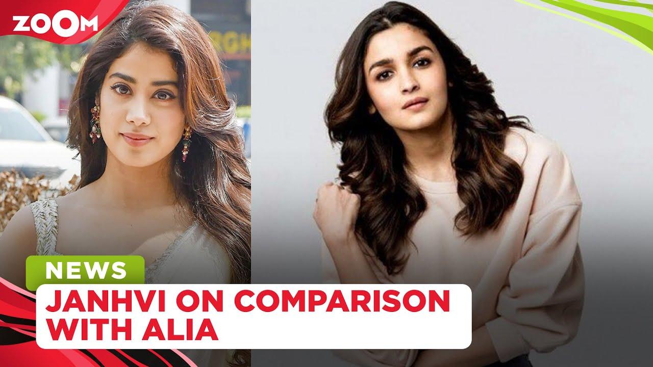 Janhvi Kapoor's unmissable reaction on comparison with Alia Bhatt