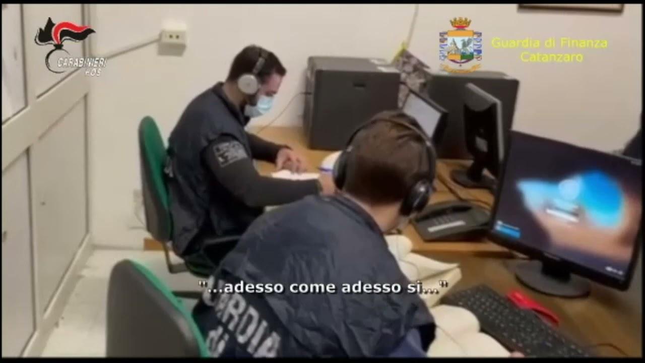 Associazione mafiosa, eseguita una misura cautelare per 56 indagati - Video