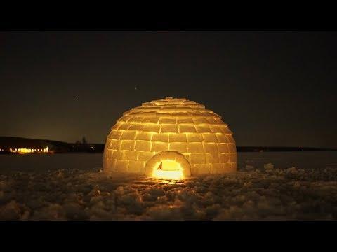 Строим иглу на Воронежском водохранилище