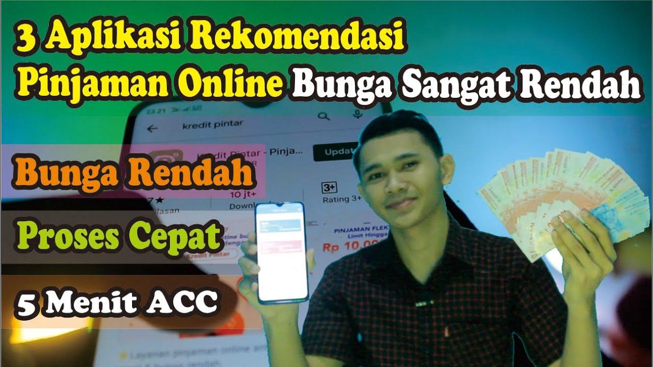 3 Aplikasi Pinjaman Online LANGSUNG CAIR hanya KTP BUNGA ...
