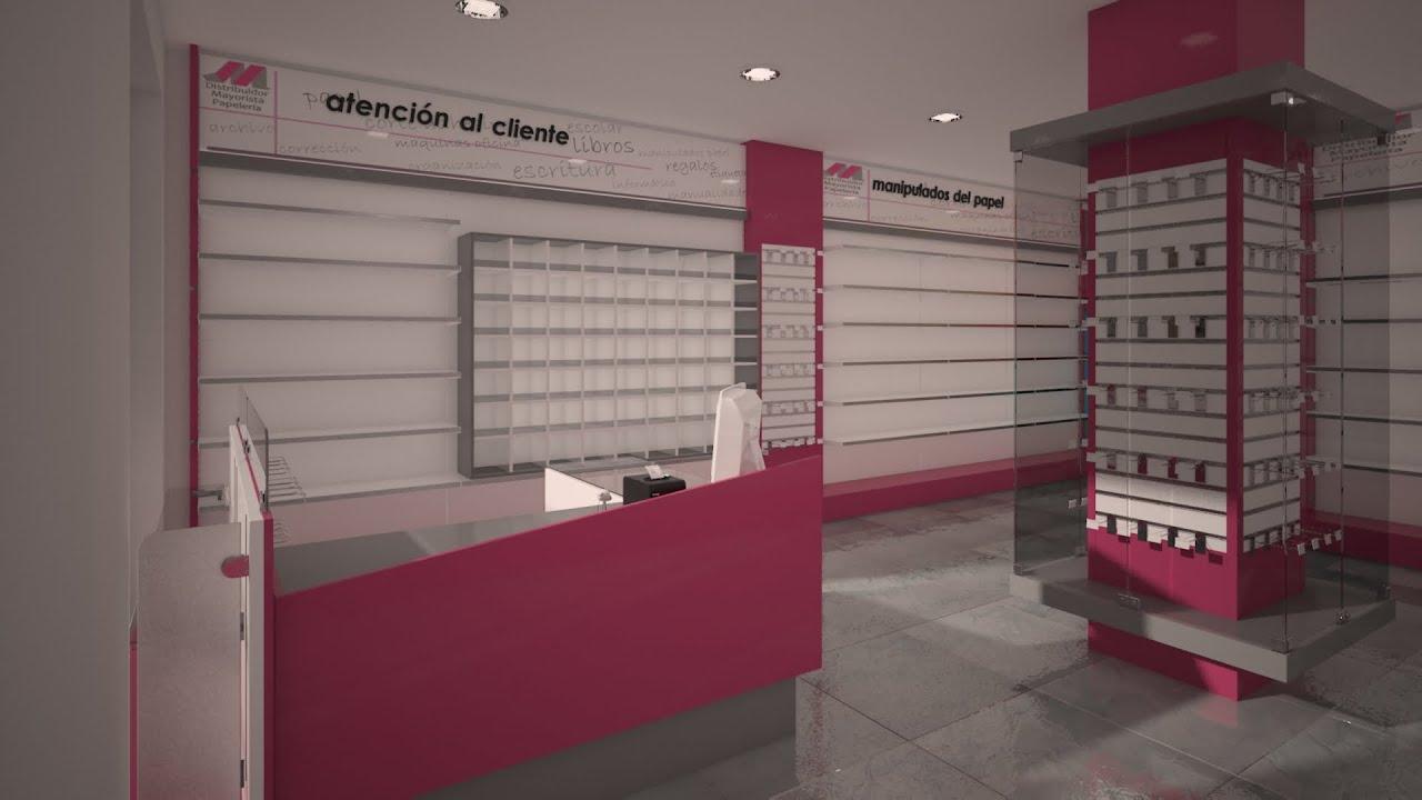 Mobiliario para tiendas libreria papeleria ciudad real for Muebles para papeleria