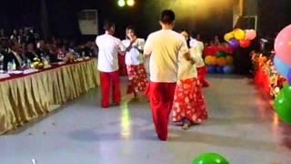 P5 MANGGAGAWA DANCE COMPANY / FOLKDANCE CARINOSA / CONSOLATION PRIZE / BACKSTAGE SIDE VIEW 12-27-14