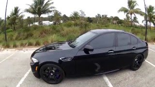 2016 bmw m5 f10 the blacked out edition