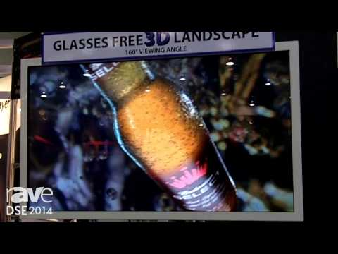 DSE 2014: Prime Resource America Introduces Glasses Free 3D Display Monitors