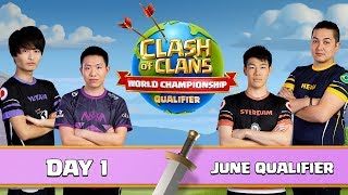 World Championship June Qualifier Day 1 Clash of Clans