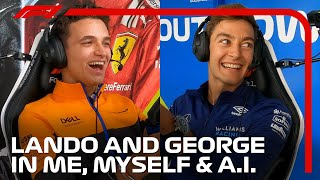 Can Lando Norris and George Russell Beat Their AI in F1 2021? | Me, Myself and AI