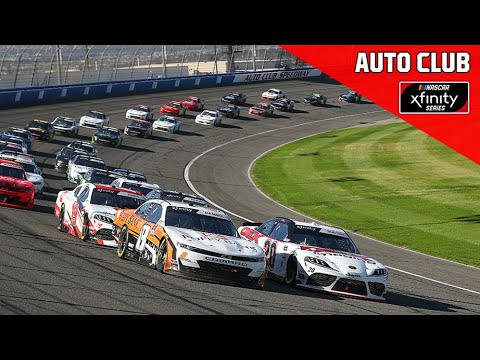 NASCAR Full Race Replay: Production Alliance Group 300   Xfinity Series From Auto Club Speedway