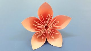 How to make a Kusudama Paper Flower | Easy origami Kusudama for beginners making | DIY-Paper Crafts