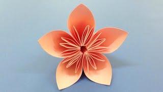How to make a Kusudama Paper Flower | Easy origami Kusudama for beginners making | DIY-Paper Crafts