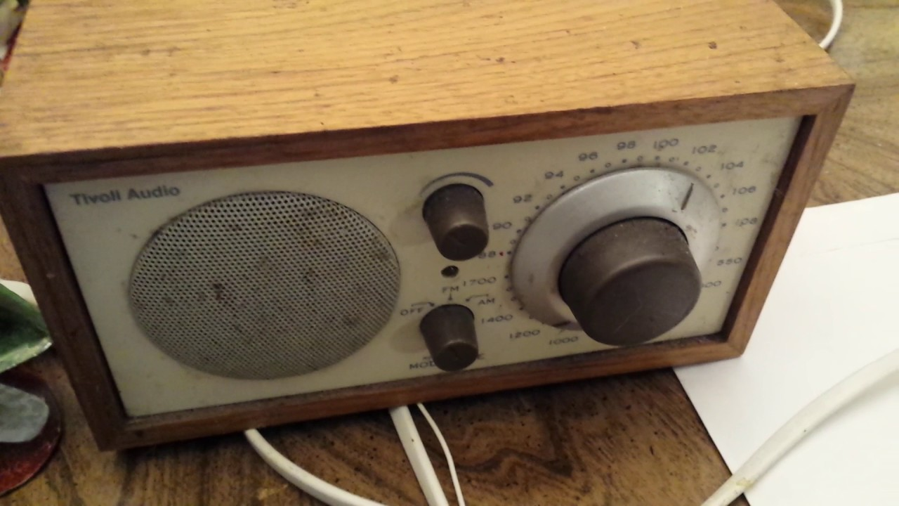 part 2 cleaning volume on tivoli audio model one henry kloss - Tivoli Radio