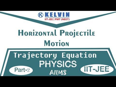 Horizontal Projectile Motion | Trajectory Equation | Part