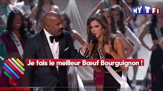 Bikini et  bœuf bourguignon : Miss France est devenue Miss Univers ! - Quotidien du 30 Janvier