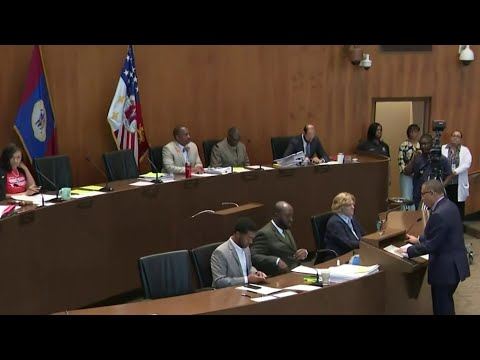 Detroit police chief speaks to City Council after rash of violent crime