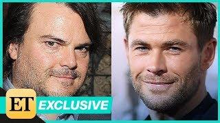 Jack Black Says Chris Hemsworth Is 'Legit Funny' Following Social Media Challenge! (Exclusive)