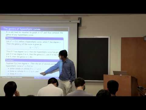 UCLA Math Distinguished Lecture Series: Manjul Bhargava, May 20, 2015