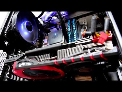 Игровой компьютер AMD R9 390 MSI Gaming 8G. Тесты в играх