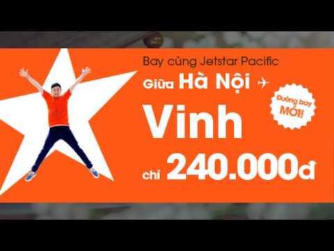 Giá vé máy bay Jetstar Vinh Sài Gòn