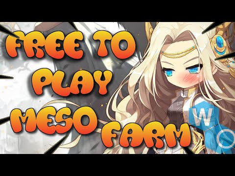F2P Maplestory M: Fuse To Play. Meso Farming And The F2P ENGINE. Best Tips For New Players #2